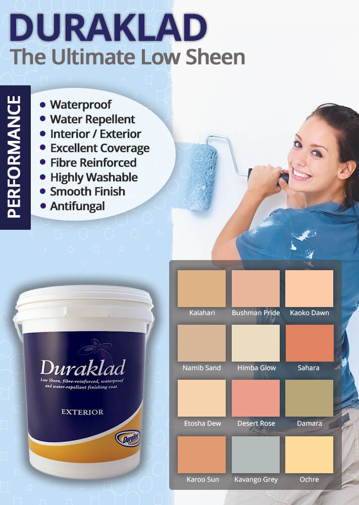 Duraklad Low Sheen Paint